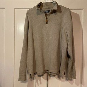 Grey Pull Over- Polo